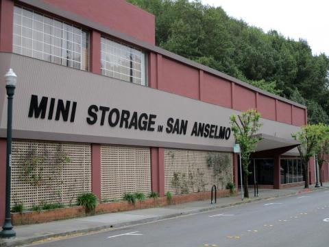 Mini Storage in San Anselmo, Marin County